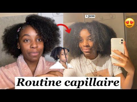 WASHDAY:ROUTINE CAPILLAIRE POUR FAIRE POUSSER SES CHEVEUX RAPIDEMENT Type 4c / haircare  #washday