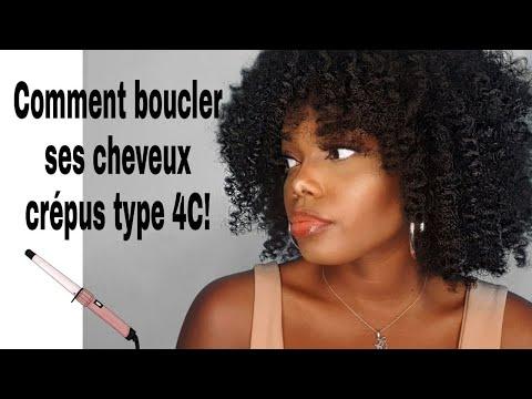 COMMENT BOUCLER SES CHEVEUX CREPUS 4C