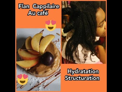 Flan Cappilaire pour cheveux afro : Structuration, nutrition en profondeur , hydratation