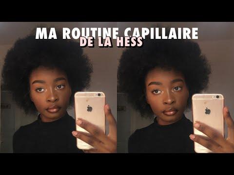 MA ROUTINE CAPILLAIRE DE LA HESS CHEVEUX CRÉPUS + MINI STORYTIME : COMMENT J'AI PERDU MES CHEVEUX
