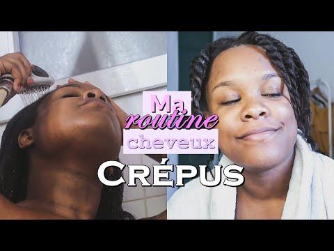 ROUTINE SOIN POUR CHEVEUX CREPUS | Cheveux en transition – 4b/4c – Hydratation.