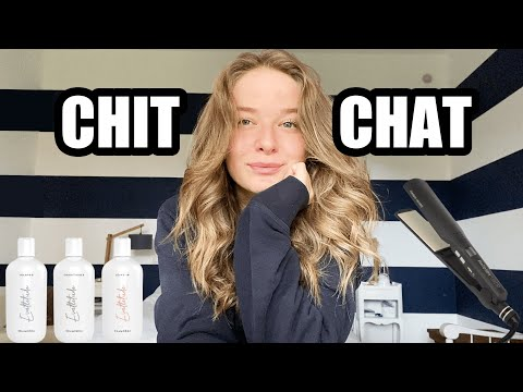 CHIT CHAT Routine cheveux et confinement