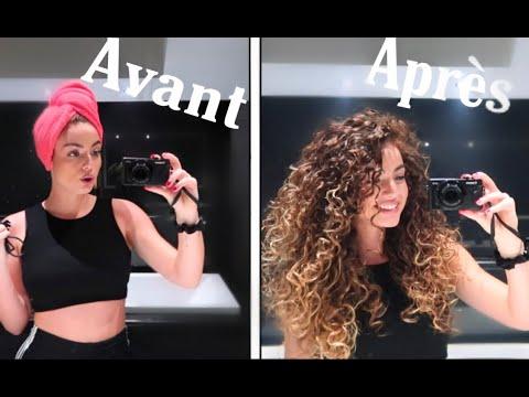 MA ROUTINE CURLY HAIR