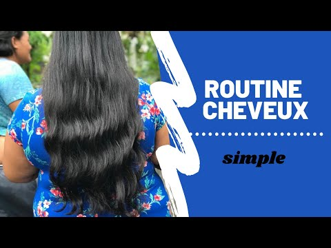 Ma routine cheveux – simple // Hau TAPU