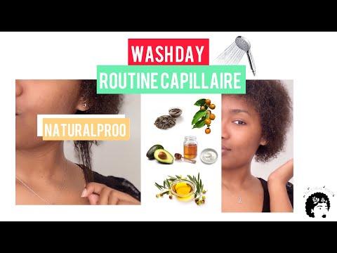 Wash day ROUTINE CAPILLAIRE ( 4B hair )