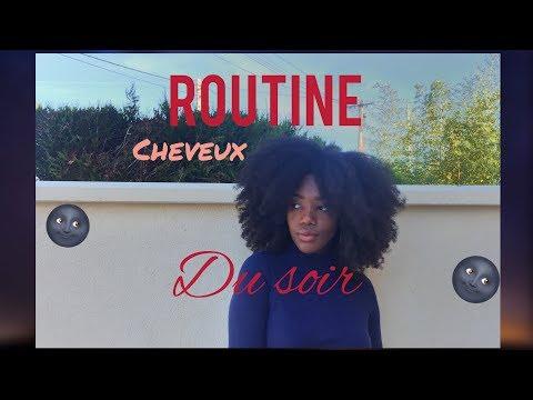 MA ROUTINE DU SOIR/CHEVEUX CRÉPUS