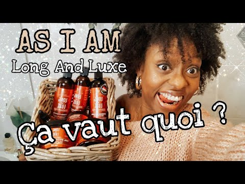 AFROVLOG #16 : AS I AM – ÇA VAUT QUOI ? GAMME COMPLÈTE LONG AND LUXE ( CRASH TEST )