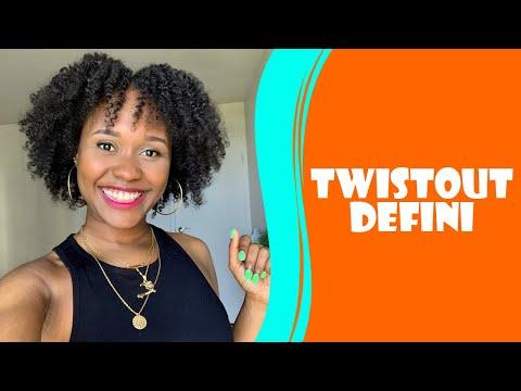 Un Twistout Défini avec les produits AS I AM | Defined Twistout with AS I AM products