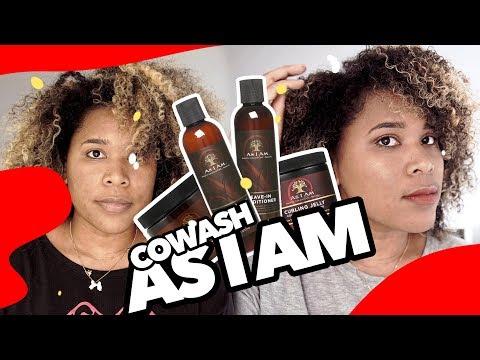 Revue test (mon avis) || Coconut Cowash || As I Am || Cheveux bouclés ||