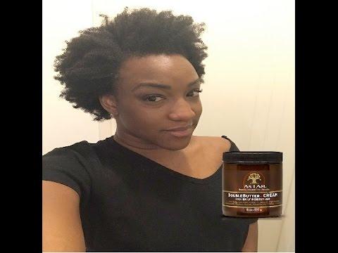 """TEST : """"Doublebutter Cream"""" définition des boucles afro crépus"""