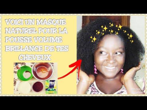 (N°37) 😲 MASQUE NATUREL pour avoir du💚VOLUME+POUSSE+BRILLANCE💚 || Challenge volume pousse de OUFF!