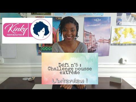 Défi n°5 part 1: Challenge pousse extrême Interview de Vivi. 👸🏾👍🏾