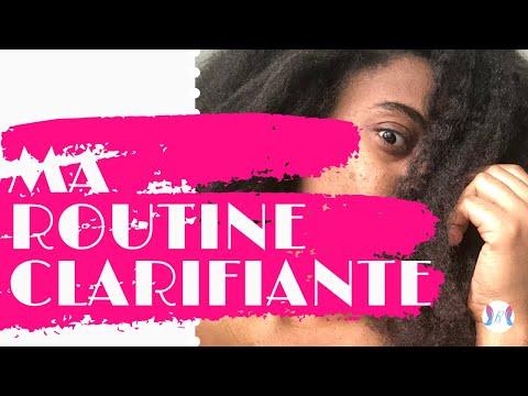ROUTINE CLARIFIANTE – EBELLS PARIS – KALIA NATURE – CHALLENGE POUSSE ET SOIN LES NATURALS