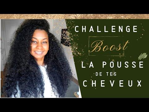 Challenge Boost la pousse de tes cheveux – c'est parti!