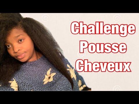 Challenge pousse cheveux Part 2