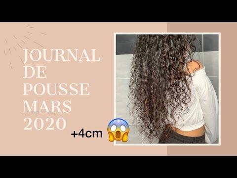 JOURNAL DE POUSSE ; ASTUCES pousse cheveux pour mars / avril  2020