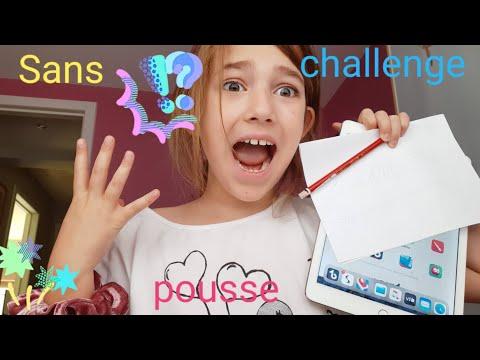 Sans pousse challenge