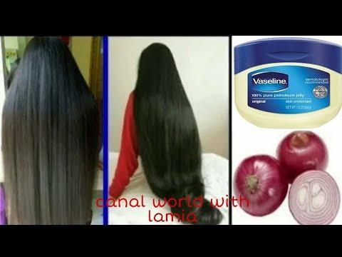 Comment utiliser la vaseline et l'oignon pour faire pousser les cheveux 2 cm par jour Très vite