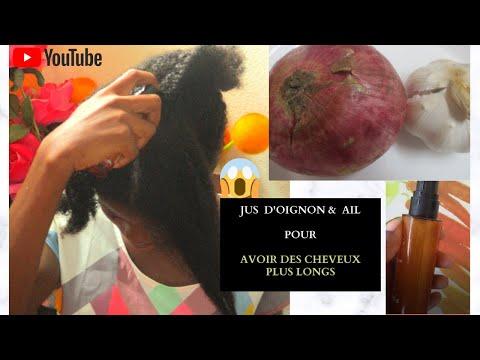 #cheveuxlongs, Faire Pousser ses Cheveux plus Vite avec ces 2 ingrédients: Oignon et Ail