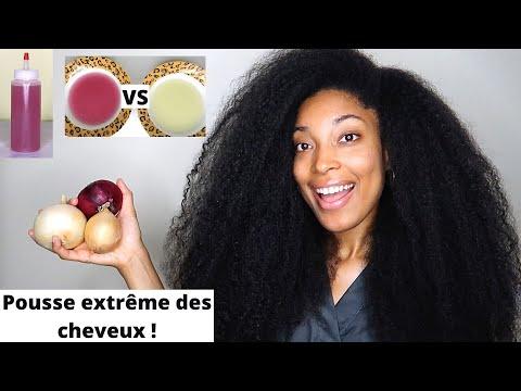 UTILISEZ LE JUS D'OIGNON POUR UNE POUSSE EXTRÊME DE VOS CHEVEUX ! Oignon Jaune VS Oignon Rouge
