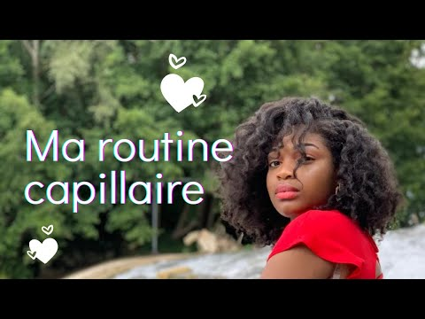 Routine capillaire cheveux crépus