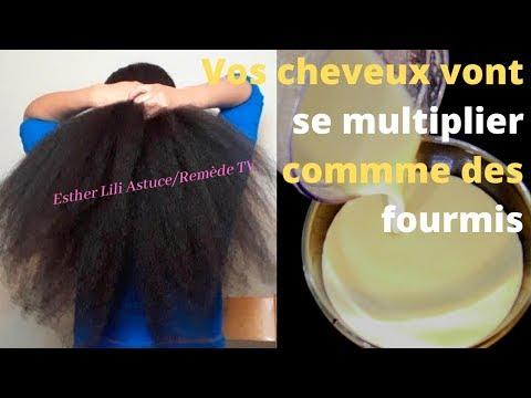 Ce merveille fait poussé les cheveux plus vite 2 semaines long, volume et épais