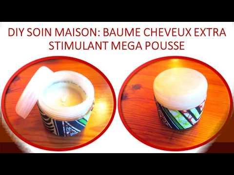 DIY Soin cheveu maison Baume capillaire MEGA STIMULE POUSSE Coco Avocat Ricin