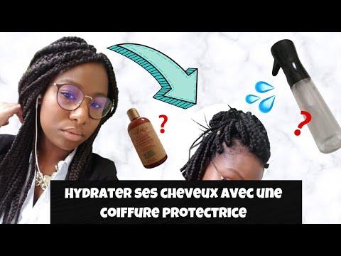 CHEVEUX AFRO EPISODE 4 : HYDRATER SES CHEVEUX CRÉPUS QUAND ON A DES BRAIDS – RAPIDE ET EFFICACE