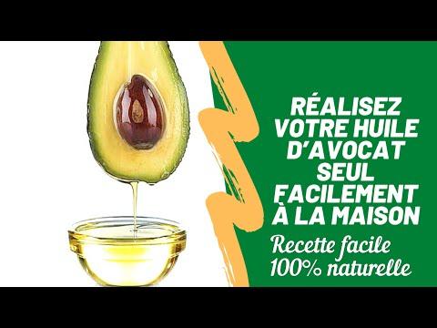 🌿#33. COMMENT PRÉPARER L'HUILE D'AVOCAT FACILEMENT À LA MAISON #pousse et volume