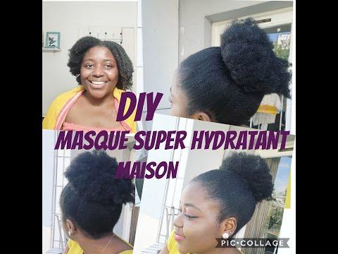 MASQUE SUPER HYDRATANT ET DÉMÊLANT pour cheveux secs,crépus et ma routine soin