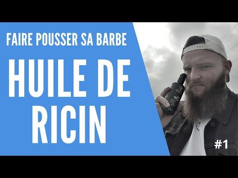 Comment faire pousser sa barbe avec l'huile de ricin – Test & Avis – Episode 1 #EvoBarbeRicin