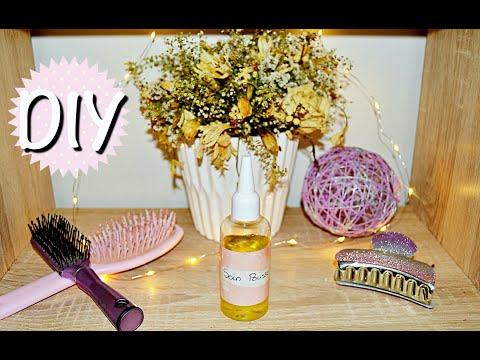 DIY – Routine pousse des cheveux – HUILE DE RICIN – Masque / bain d'huile