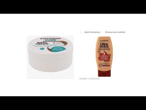 Produit brillance douceur et pousse !!🤔 #cheveux #longueur #doux #brillant #coco #plante