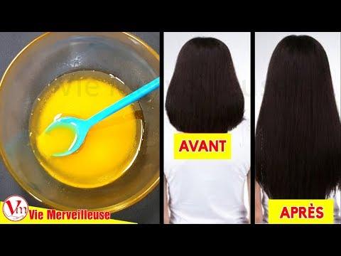 Appliquer Ce Masque De Cheveux Pour Doubler La Pousse Des Cheveux Et Prévenir La Chute Des Cheveux