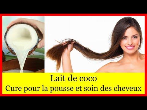 Lait de coco cheveux – cure pour la pousse et soin des cheveux