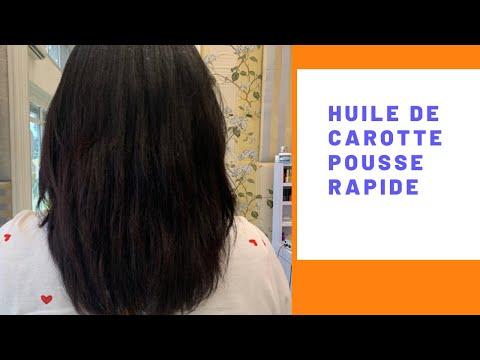Huile de carotte pousse rapide