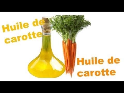 Comment faire pousser ses cheveux avec l'huile de Carotte DIY huile de carotte