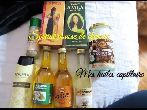 Les huiles spéciales POUSSE DE CHEVEUX ★