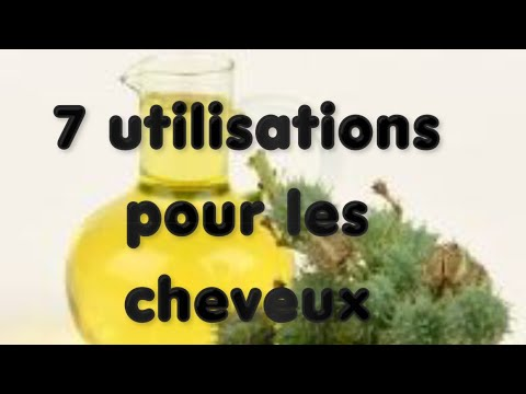 7 utilisation de l'huile de ricin pour les cheveux