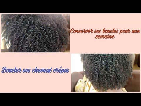 Comment boucler ses cheveux crépus sans gel et conserver les boucles pendant une semaine (4b-4c)