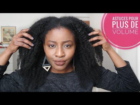 Cheveux crépus/fins: Astuces pour donner du VOLUME