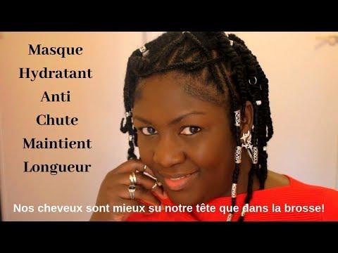 HAÏTI AFRO| Soin Anti-Chute Maintient Longueur| Masque Hydratant