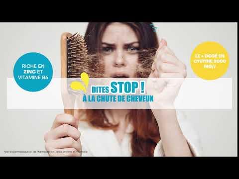 Cystiphane contre la chute des cheveux !