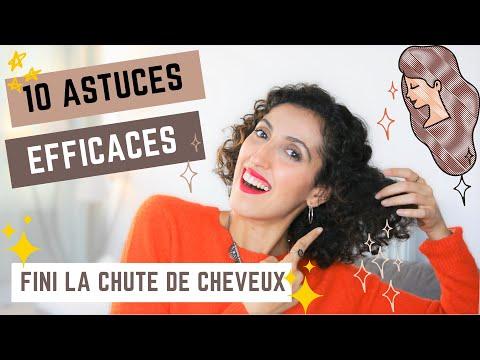 CONSEILS CONTRE LA CHUTE DE CHEVEUX