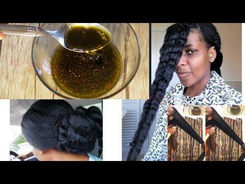 Pousse rapide tes cheveux tombe voici 3 huiles puissant et cet ingrédient est ta solution regardé !!