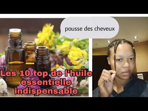 top 10 huiles essentielles pour la pousse des cheveux//[challenge capillaire].pousse extrême