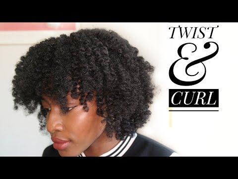 Cheveux Crépus: TWIST & CURL (de crépus à bouclés sans chaleur)