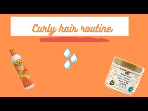 「 Curly hair routine ! sur cheveux frisés à crépus」