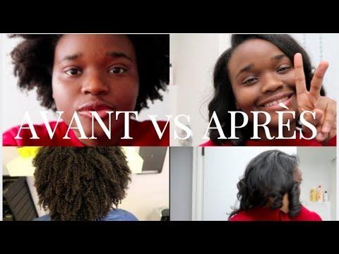 De crepus à Lisse| Couper ses cheveux chez Curly hair designs Ottawa| Bantu fro