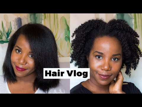 DE LISSE À CRÉPU : WASHDAY + TWIST-OUT | Hair Vlog